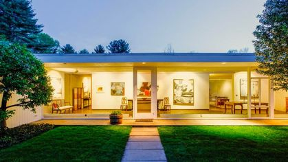 Marvelous and Rare Mid-Century Modern Glass House on Market for $2.75M