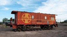 Train Car for Sale in Marfa, TX, Could Be a Cool Getaway Plan