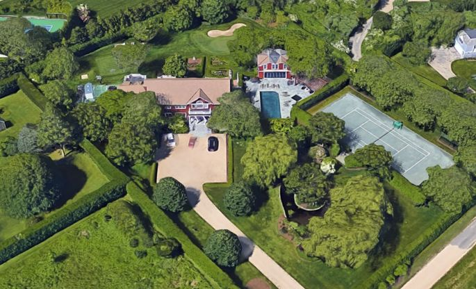 Mr. Manafort's Hamptons home