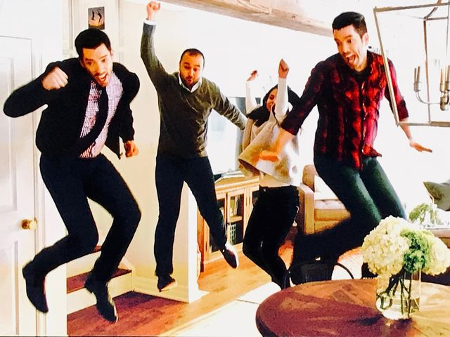 Everyone jumps for joy over a gorgeous new home that exceeds all expectations.