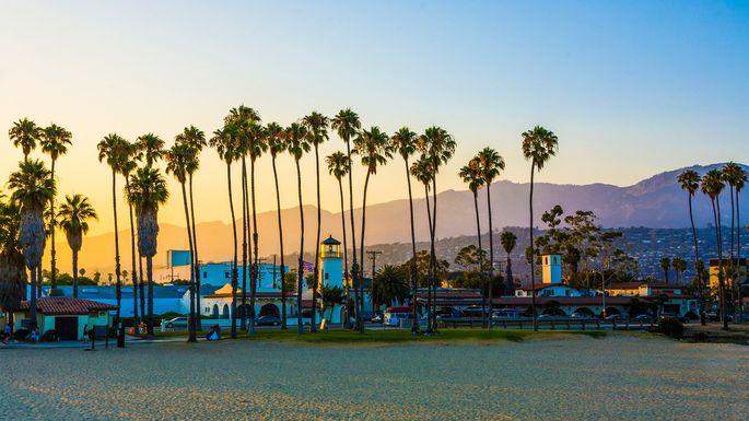 Santa Barbara, CA, promenade