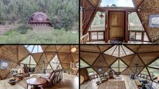 $650K Dome Home in Rocky Mountains Is a Local Landmark