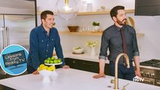 The Property Brothers Design a Kitchen So Strange, You Can't Not Look