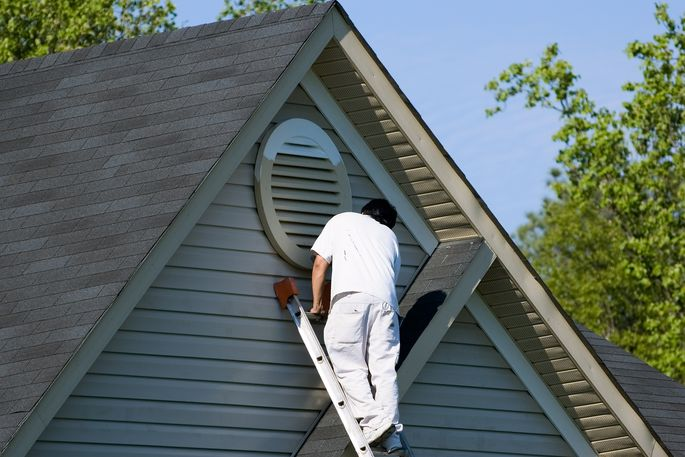 Summer is an ideal time to paint the exterior of your home.