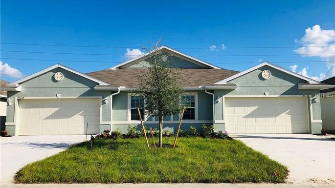 Newly built, two-bedroom villa in Punta Gorda, FL
