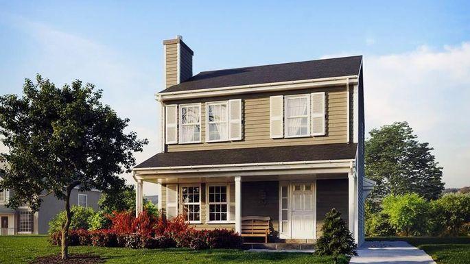 Newly built three-bedroom in Cincinnati, OH