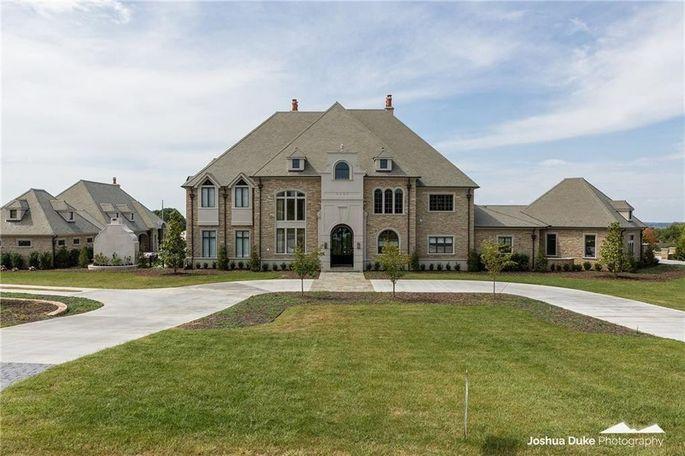 Mansion belonging to Chad Morris