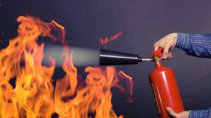 Fire Extinguisher Training: How to Use a Fire Extinguisher So You Don't Get Burned