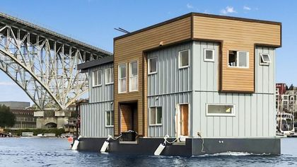 Come Sail Away on This Rockin' $1.2M Houseboat in Seattle