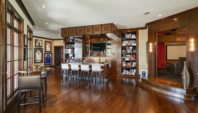 Bar and home theater