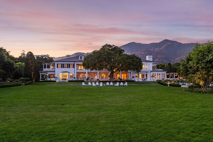 Rob Lowe's Montecito compound