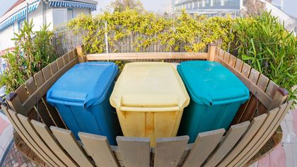 What Is a Trash Corral? A Gorgeous Way to Hide Your Garbage