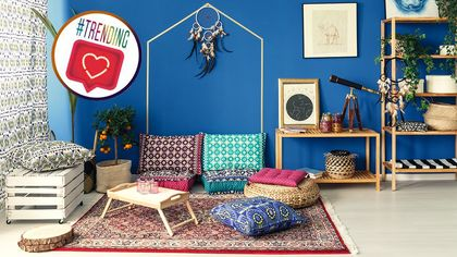 These 5 Living Room Ideas From Instagram Will Chase Away Your Post-Holiday Blues