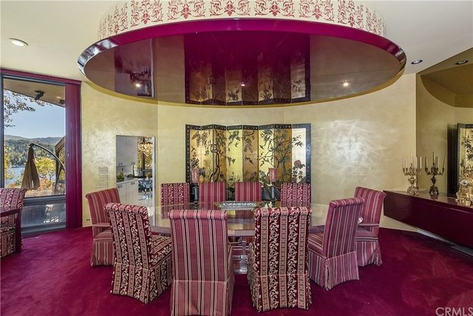Ruby dining room