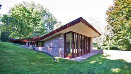 Restored Frank Lloyd Wright Usonian Goes on the Market in Michigan