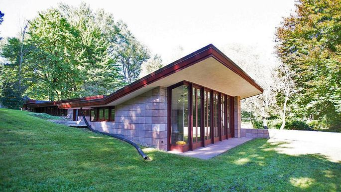 Frank Lloyd Wright In Michigan on Ranch House Floor Plans