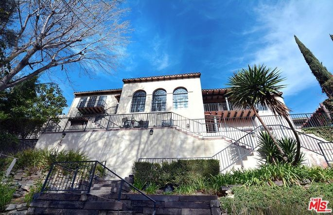 Jason Segel's home in Los Feliz, CA