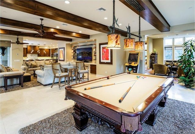 Great room game space