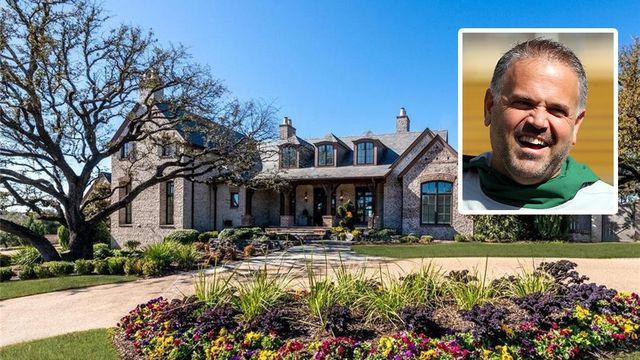 New Carolina Panthers Coach Matt Rhule Selling Waco Estate for $2.5M   realtor.com®