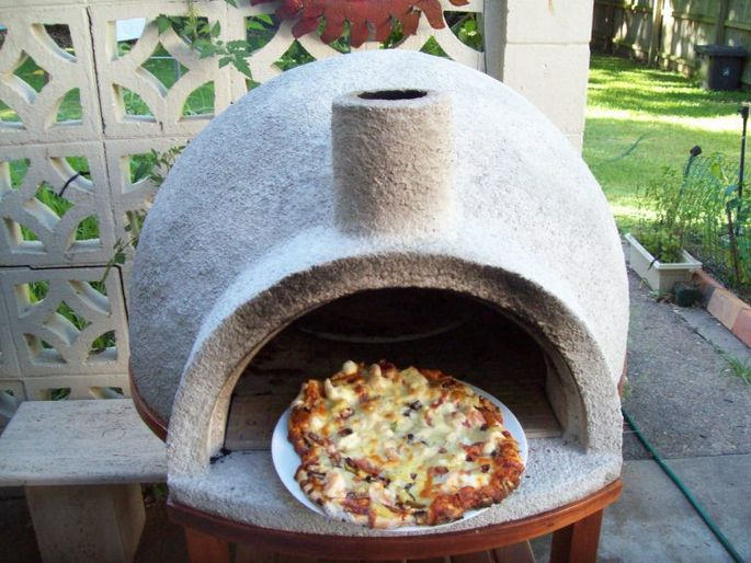 DIY pizza oven by Food Truck Empire