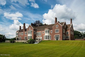 The Most Expensive House in Connecticut Is Exactly What You'd Expect: Big, Brick, Private