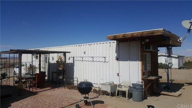 Adelanto, CA shipping container house exterior