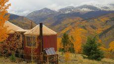 Yurt in the Colorado Wild