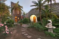 Whimsically Awesome Ocean Front Dome Home and Tower in California