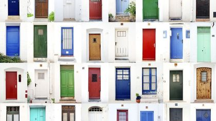 Your Front Door Color Reveals More About You Than You'd Think