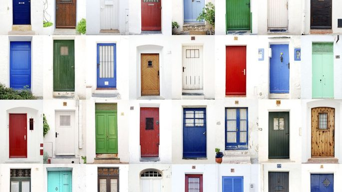 Your Front Door Color Reveals More About You Than You D