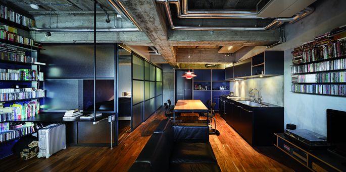 Apartment 1001. From 150 Best Mini Interior Ideas by Francesc Zamora Mola. Architect Keiji Ashizawa Design.