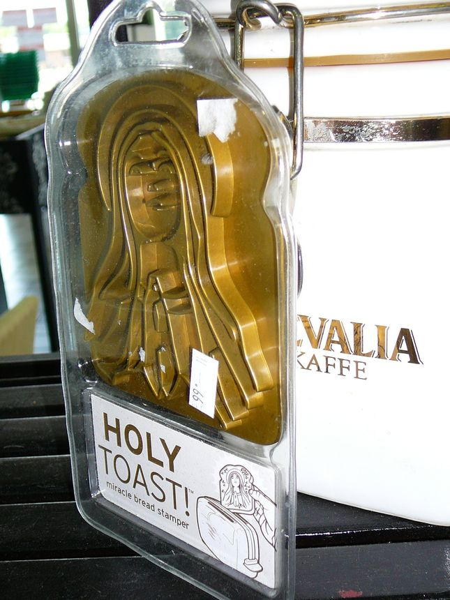 You're not imagining it—the Virgin Mary really is making an appearance on your toast.