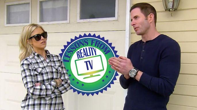 582c10a40 Tarek and Christina Find What a Home Seller Tried to Hide