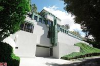 Mayan-Inspired Samuel Novarro House by Lloyd Wright For Sale