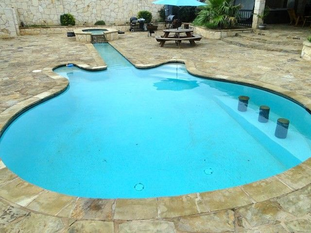 8 Pools In A Variety Of Peculiar Shapes