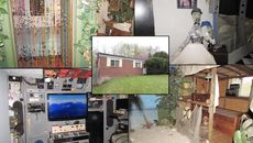 Wildest Home Photos Ever? The Strange Story Behind This Basic Brick House
