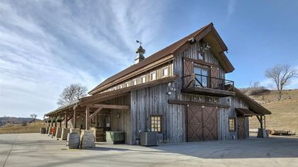 Haute 'Barndominium'? Nebraska Barn Elevates Rustic Residence Concept