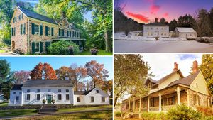 Yankee Doodle! We Salute 9 Homes From America's Revolutionary Era