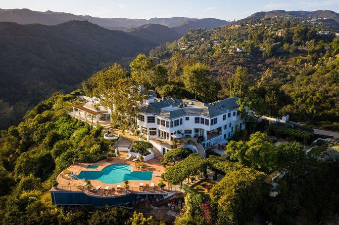 Norman Lear's L.A. estate