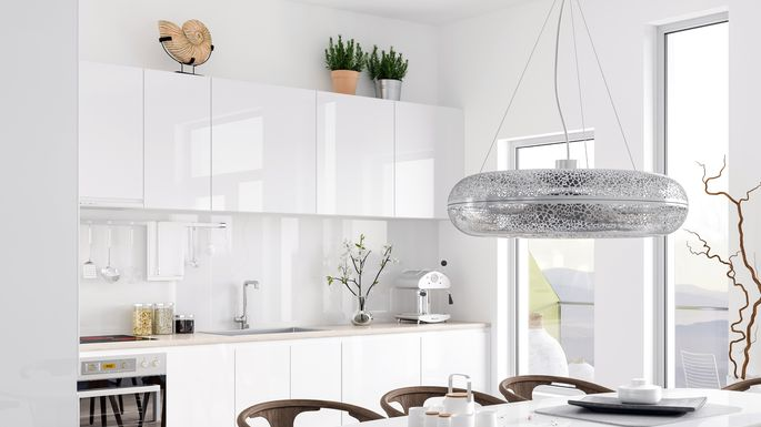 9 Creative Ways To Decorate The Tops Of Your Kitchen Cabinets Realtor Com