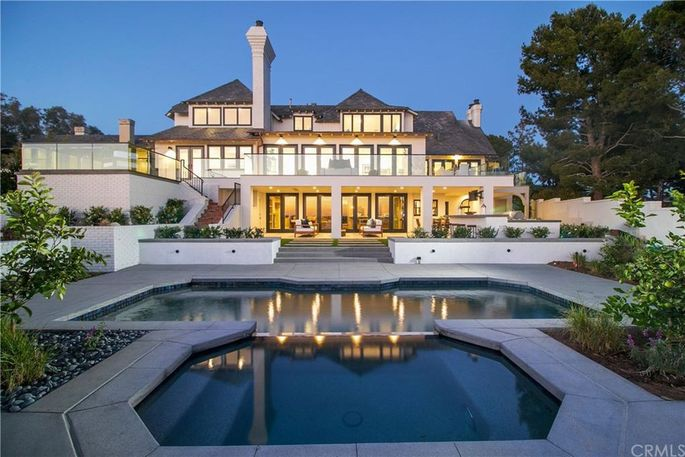 Mike Trout's Newport Beach, CA, mansion