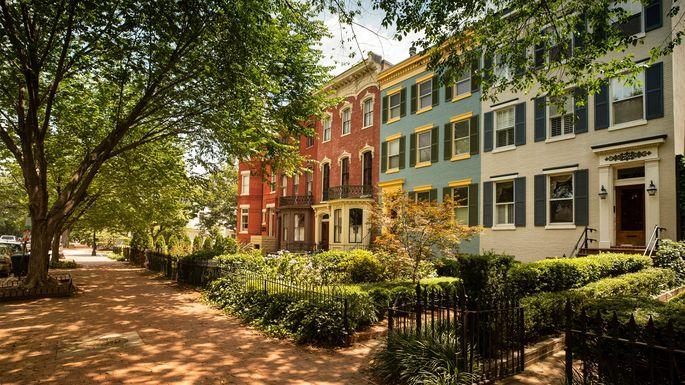 Capitol Hill historic community in Washington, DC