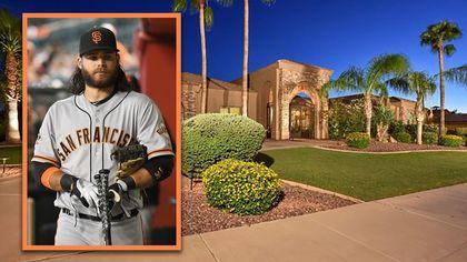 San Francisco Giants Star Brandon Crawford Selling Scottsdale Home for $1.5M