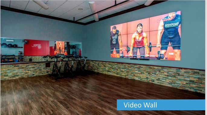 The Clarus, in Maplewood, NJ, will have a fitness center with virtual instructors. The building is seeking WELL Certification.