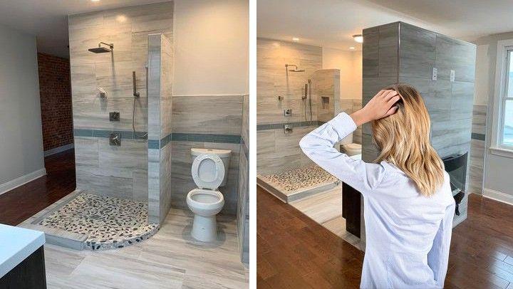 Why Open Concept Bathrooms Could Spread, Open Concept Bathroom