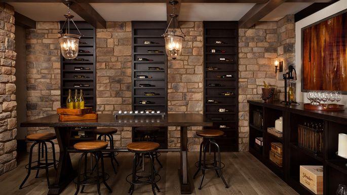 Home In Atlanta With Wine Cellar
