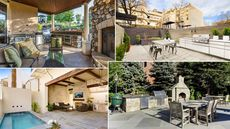 9 Delicious Outdoor Kitchens Just Waiting for a Buyer to Bite