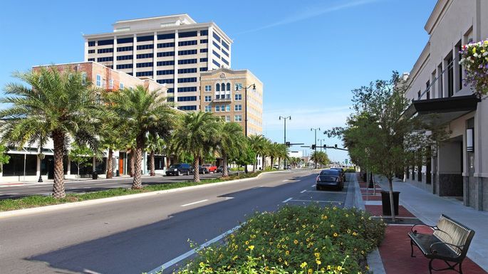 Downtown Gulfport, MS