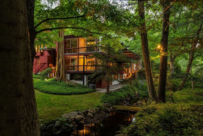 Dave Brubeck's jazzy home in Wilton, CT