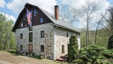 Watch Water Flow Under Your Living Room in This Converted Mill in New Jersey